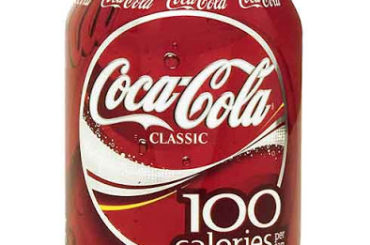 Coca Cola 100 calories cannette